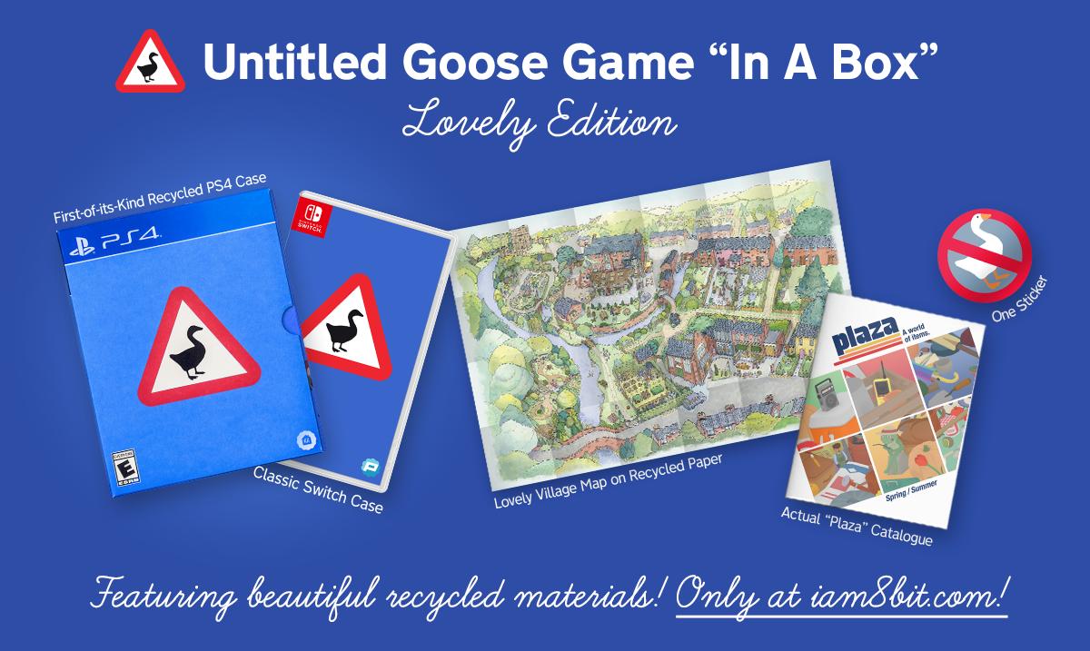 نسخه فیزیکی بازی Untitled Goose Game پاییز امسال برای نینتندو سوییچ و پلیاستیشن ۴ عرضه میشود 6